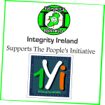Integrity Ireland supports the 1Yi campaign..